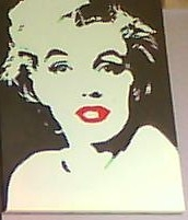 Marilyn Monroe por IVYontheWALL